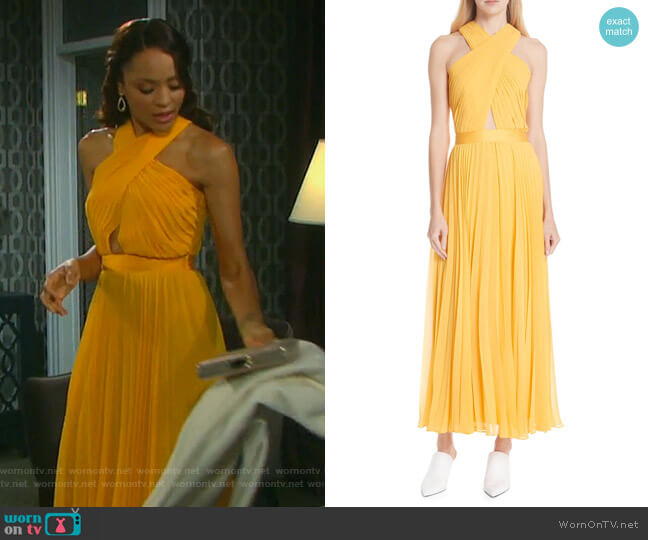 Elenita Dress by Joie worn by Sal Stowers on Days of our Lives