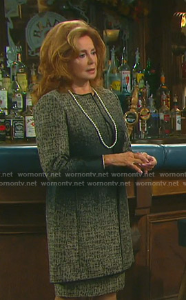 Maggie's ombre dress and jacket on Days of our Lives