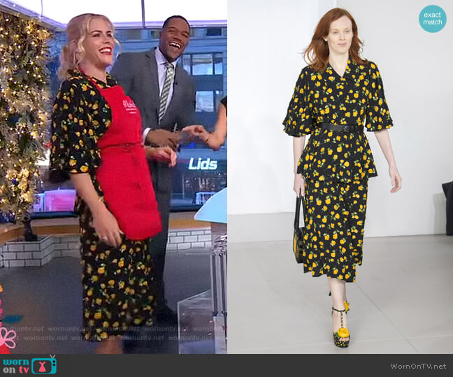 by Michael Kors - Fall 2018 Collection worn by Busy Philipps on Good Morning America
