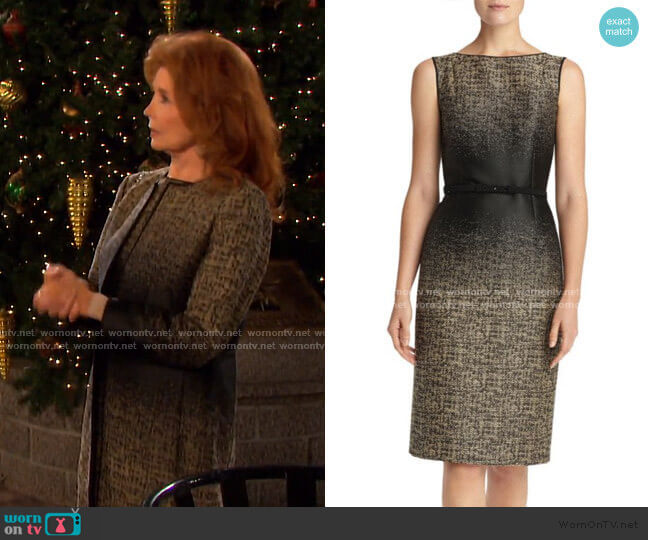 Paulette Dress by Lafayette 148 New York worn by Maggie Horton (Suzanne Rogers) on Days of our Lives