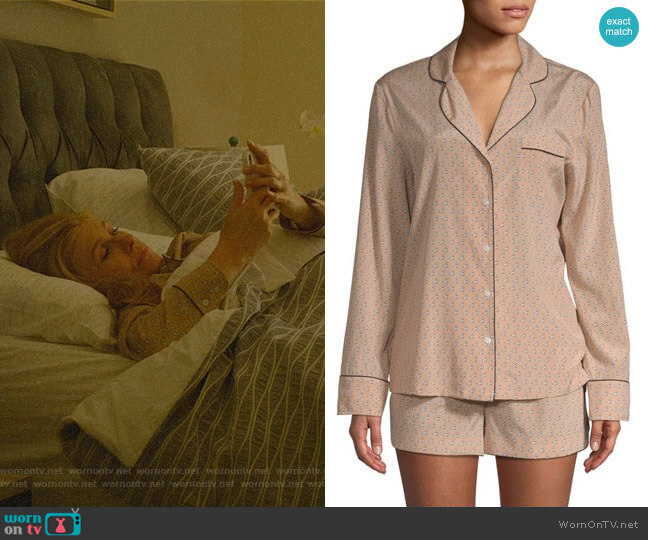 Poppy Snoozing PJ Set by Stella McCartney worn by Debra Newell (Connie Britton) on Dirty John