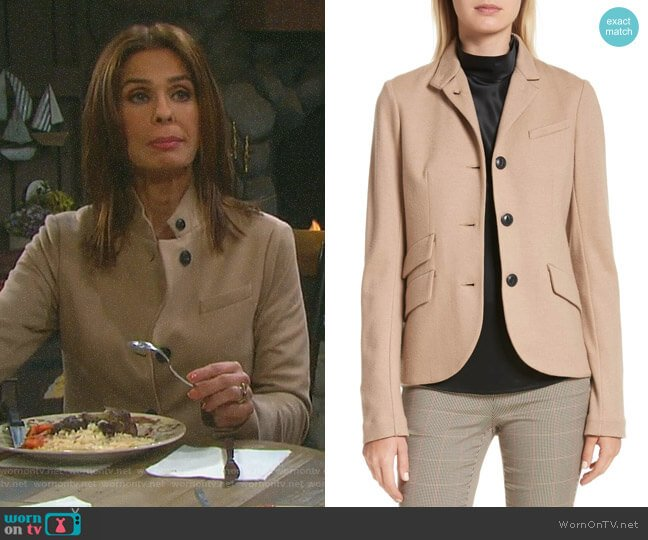 Slade Blazer by Rag & Bone worn by Kristian Alfonso on Days of our Lives