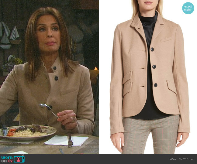 Slade Blazer by Rag & Bone worn by Hope Williams (Kristian Alfonso) on Days of our Lives