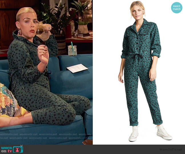 Ziggy Jumpsuit by Rachel Antonoff worn by Busy Philipps  on Busy Tonight