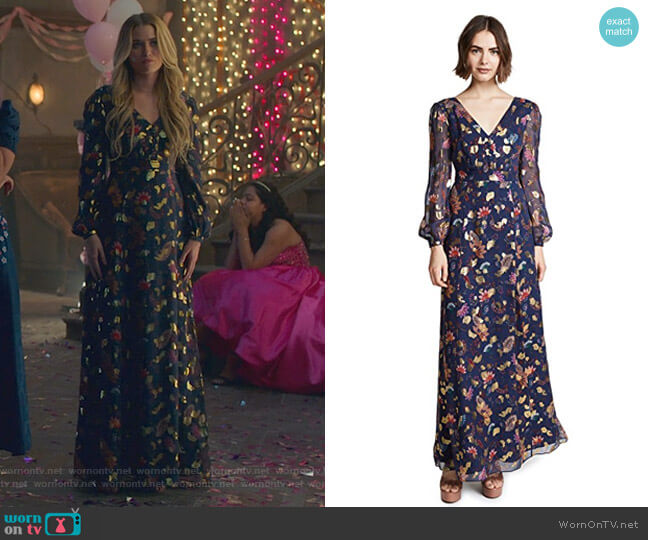 Annabel Dress by Rachel Zoe worn by Virginia Gardner on Marvels Runaways