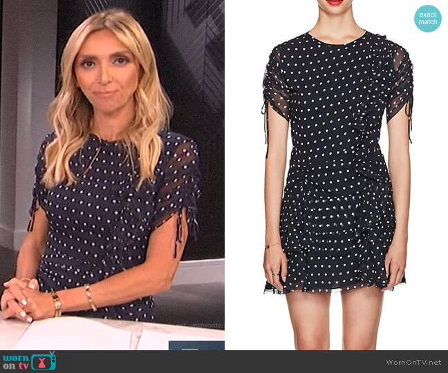 Marceau Dress by Sir The Label worn by Giuliana Rancic (Giuliana Rancic) on E! News