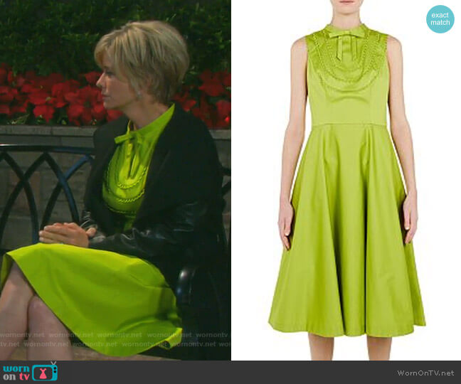 Briiola Dress by Ted Baker worn by Kayla Brady (Mary Beth Evans) on Days of our Lives