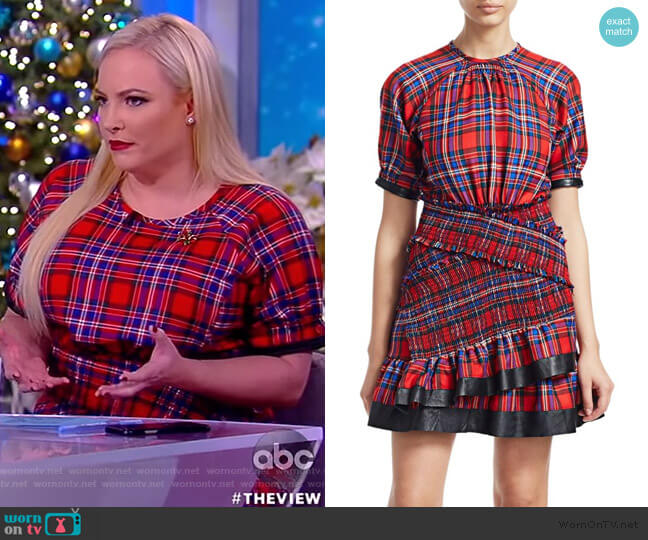 Nicole Dress by Tanya Taylor worn by Meghan McCain  on The View