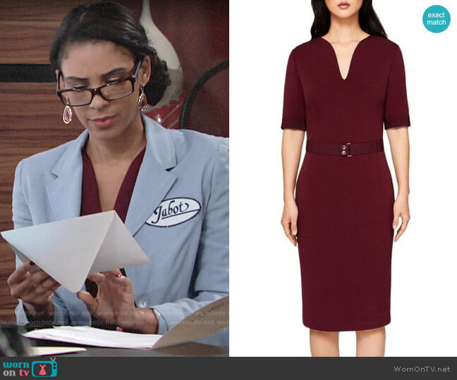 Ted Baker Jesabil Dress worn by Kerry Johnson (Alice Hunter) on The Young & the Restless