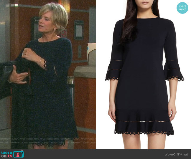 Yazmin Dress by Ted Baker worn by Kayla Brady (Mary Beth Evans) on Days of our Lives