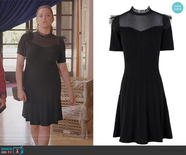 Short Dress by The Kooples worn by Rebecca Bunch (Rachel Bloom) on Crazy Ex-Girlfriend