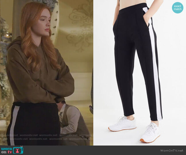 Tess Tricot Track Pant by Urban Outfitters worn by Kirby Anders (Maddison Brown) on Dynasty