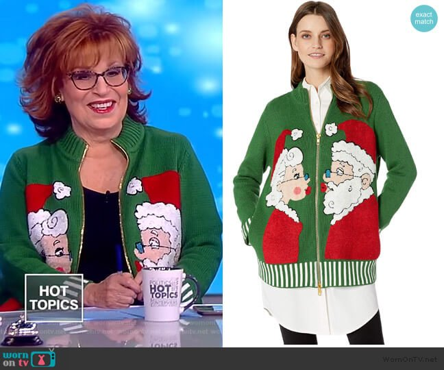 Mr + Mrs Sweater by Whoopi worn by Joy Behar  on The View