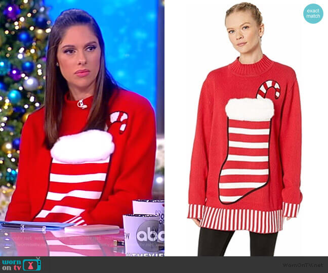 Stocking Stuffer Sweater by  Whoopi worn by Abby Huntsman  on The View
