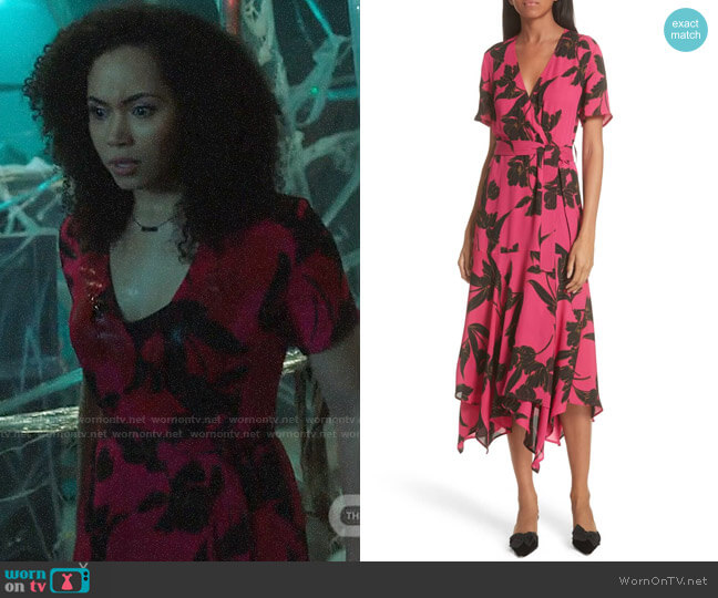 ALC Cora Dress worn by Macy Vaughn (Madeleine Mantock) on Charmed