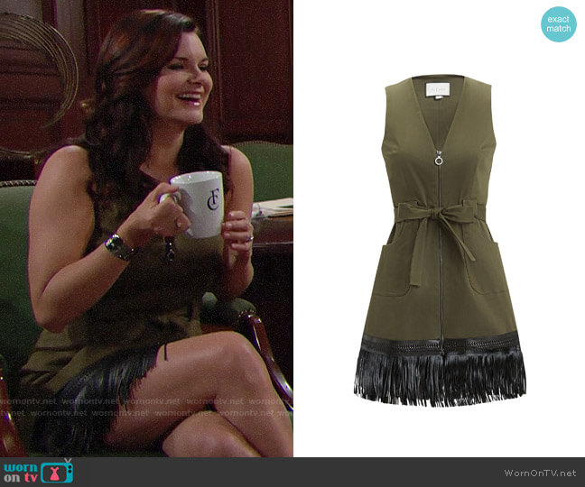 Alexis Lottie Dress worn by Katie Logan (Heather Tom) on The Bold & the Beautiful