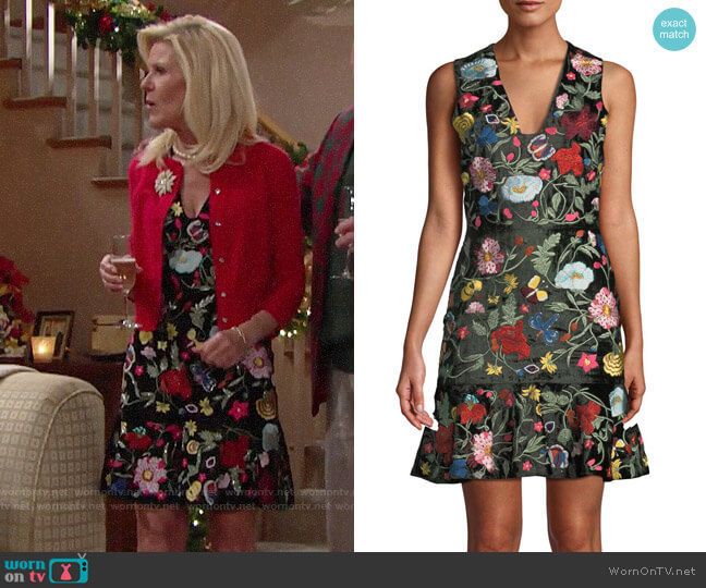 Alice + Olivia Peyton Dress worn by Pamela Douglas (Alley Mills) on The Bold & the Beautiful