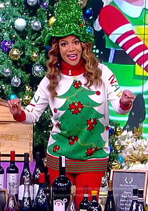 Sunny's Christmas Tree sweater on The View