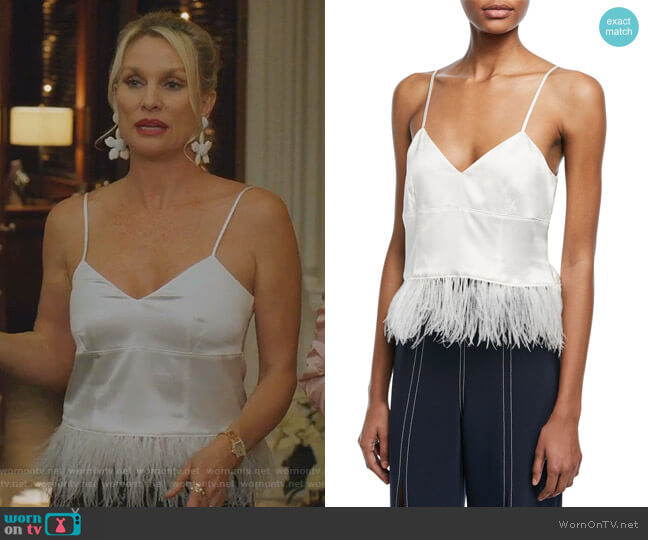 Narcissa Camisole by Cinq a Sept worn by Alexis Carrington (Elaine Hendrix) on Dynasty