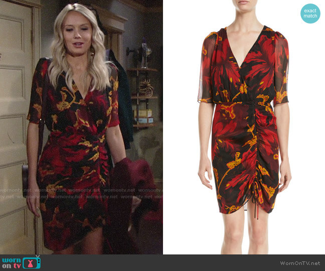 Diane von Furstenberg Kelda Dress worn by Abby Newman (Melissa Ordway) on The Young & the Restless