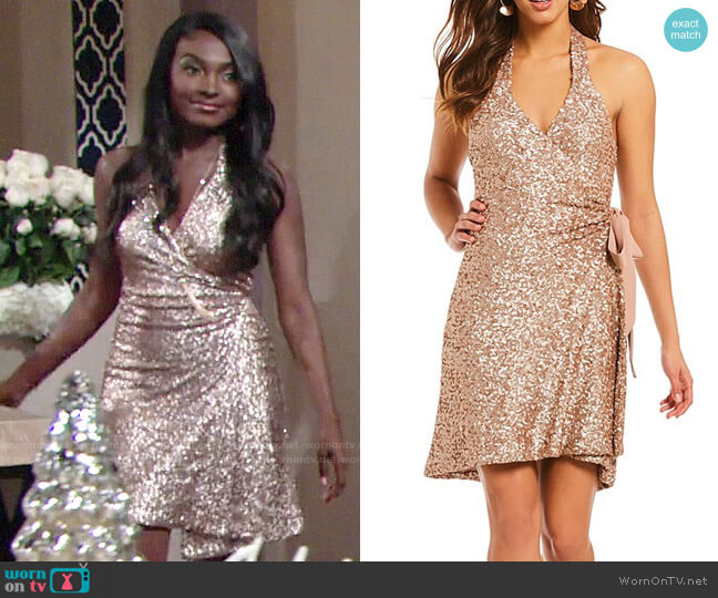 Dress the Population Danielle Dress worn by Ana Hamilton (Loren Lott) on The Young & the Restless