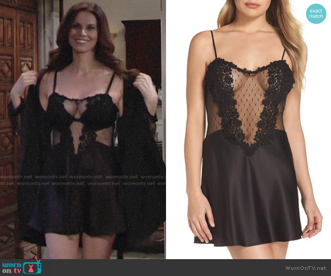 Flora Nikrooz Showstopper Chemise worn by Rebecca Barlow (Jennifer Taylor) on The Young & the Restless