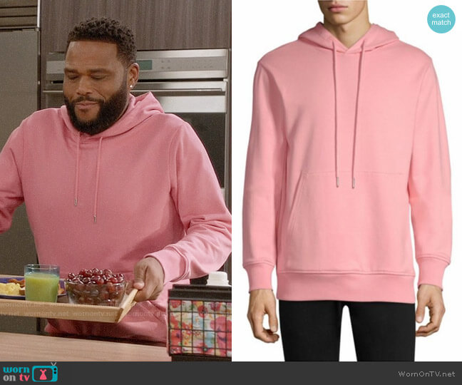 Helmut Lang Patch Pocket Hoodie worn by Andre Johnson (Anthony Anderson) on Blackish