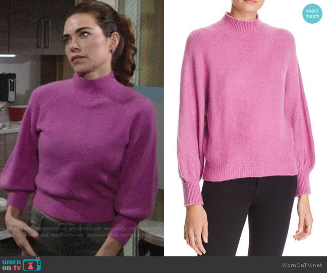 Joie Jenlar Sweater worn by Victoria Newman (Amelia Heinle) on The Young & the Restless