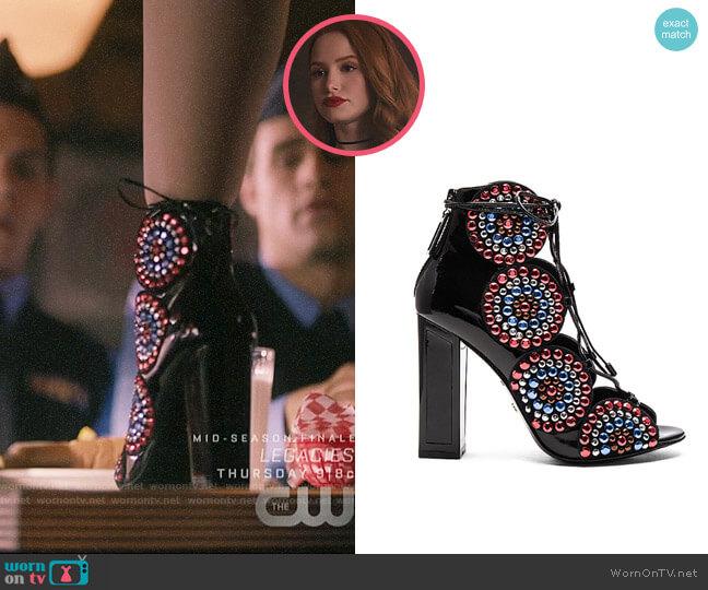 Kat Maconie Vera Heel worn by Cheryl Blossom (Madelaine Petsch) on Riverdale