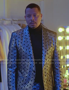 Lucious's metallic suit on Empire