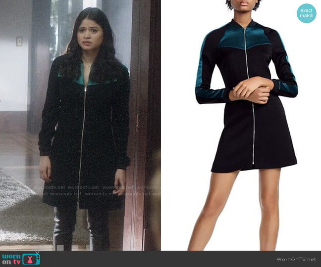 Maje Rizia Dress worn by Mel Vera (Melonie Diaz) on Charmed