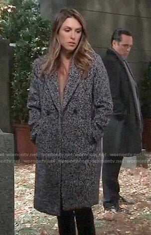 Margaux's tweed coat on General Hospital