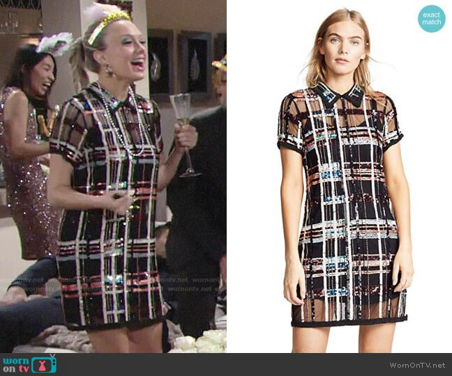 Parker Grayson Dress worn by Abby Newman (Melissa Ordway) on The Young & the Restless