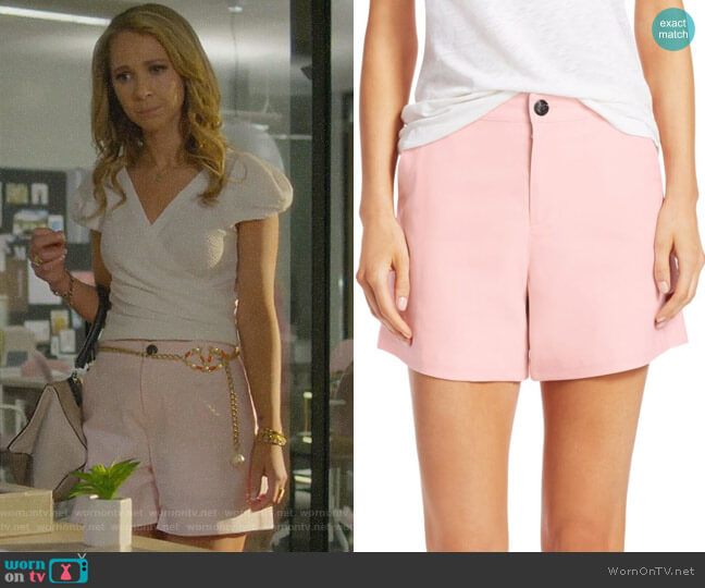 Sage Shorts by Rag & Bone worn by Veronica Newell (Juno Temple) on Dirty John