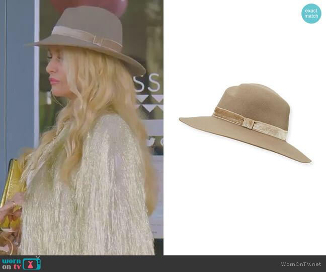 Zoe Wool Fedora Hat by Rag & Bone worn by Alexis Carrington (Elaine Hendrix) on Dynasty