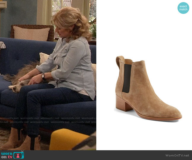 Rag & Bone Walker Bootie worn by Vanessa Baxter (Nancy Travis) on Last Man Standing