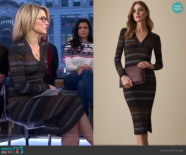 Sassy Dress by Reiss worn by Amy Robach  on Good Morning America