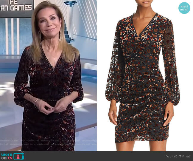 Velvet Burnout Dress by Sam Edelman worn by Kathie Lee Gifford  on Today