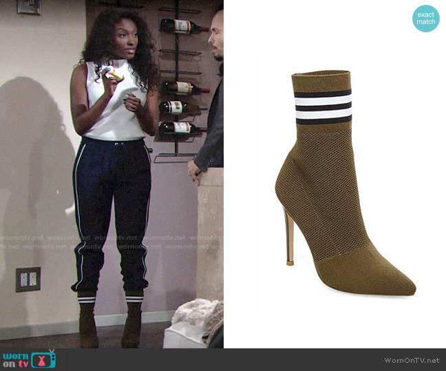 Steve Madden Century Bootie worn by Ana Hamilton (Loren Lott) on The Young & the Restless
