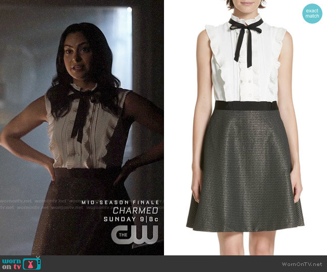 Ted Baker Karoll Dress worn by Veronica Lodge (Camila Mendes) on Riverdale