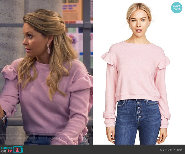 Darlene Sweater by WAYF worn by DJ Tanner-Fuller (Candace Cameron Bure) on Fuller House