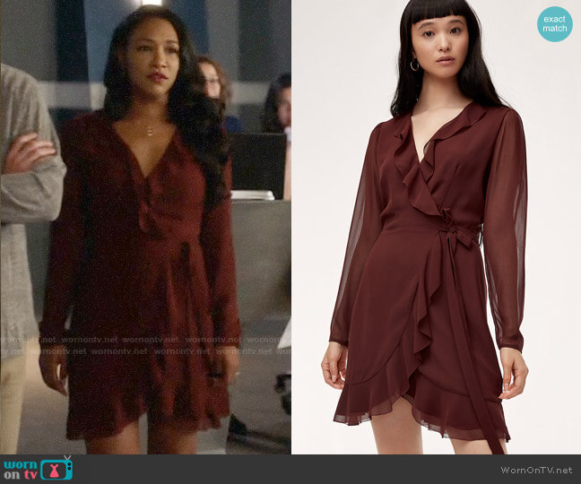 Wilfred Louise Dress worn by Candice Patton on The Flash