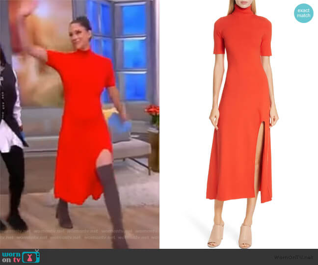 Caplan Turtleneck Dress by ALC worn by Abby Huntsman  on The View