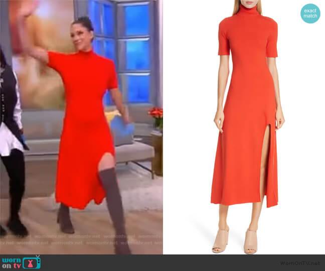 Caplan Turtleneck Dress by ALC worn by Abby Huntsman (Abby Huntsman) on The View