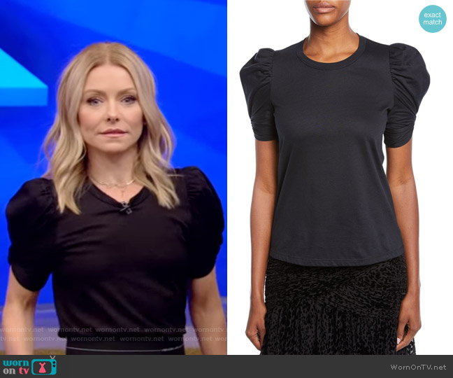Kati Tee by A.L.C. worn by Kelly Ripa  on Live with Kelly & Ryan