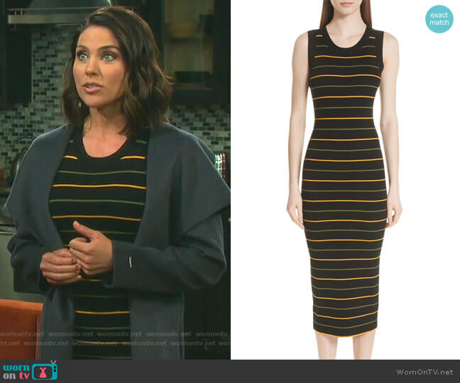 Shane Dress by A.L.C. worn by Chloe Lane (Nadia Bjorlin) on Days of our Lives