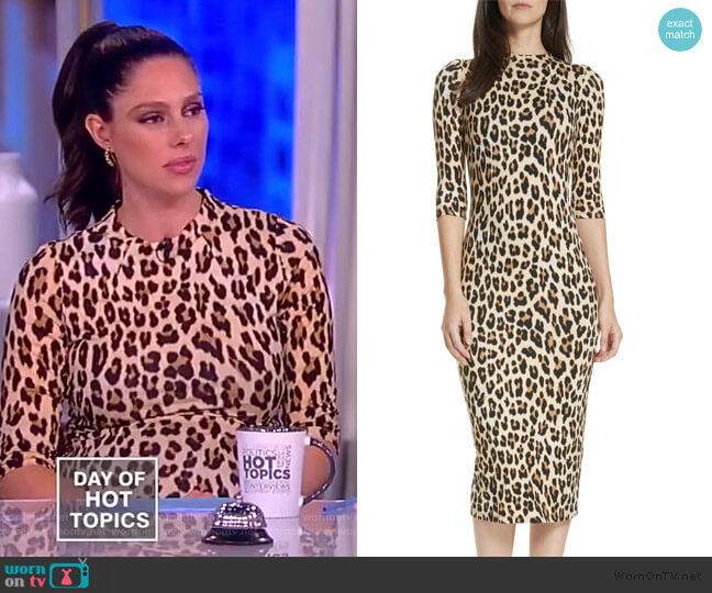 Delora Dress by Alice + Olivia worn by Abby Huntsman  on The View