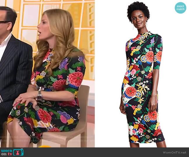 Delora Dress by Alice + Olivia worn by Jill Martin (Jill Martin) on Today