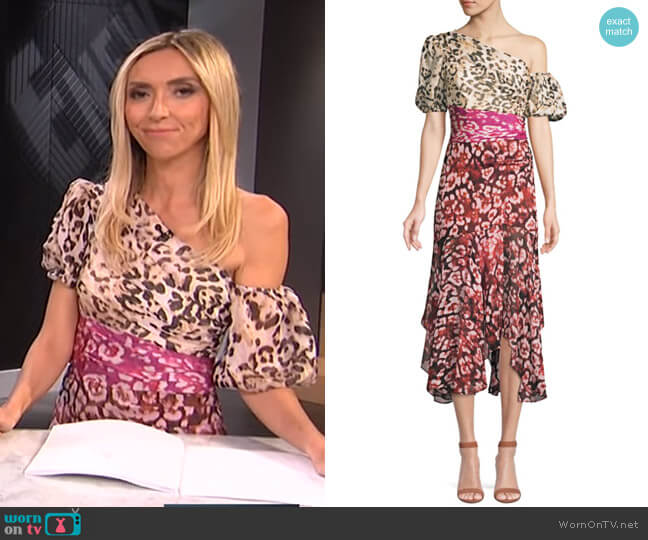 Jaylah Dress by Amur worn by Giuliana Rancic  on E! News