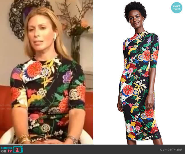 Delora Dress by Alice + Olivia worn by Jill Martin  on Today